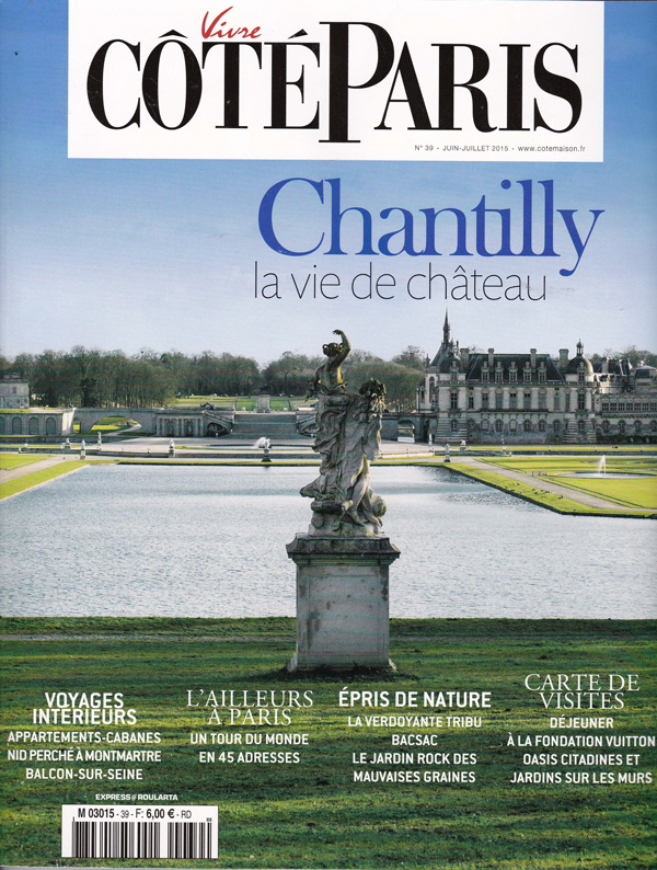 cote paris chantilly