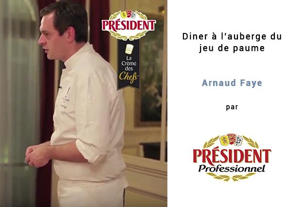 Arnaud Faye president